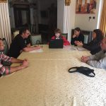 The third project team meeting at Craiova