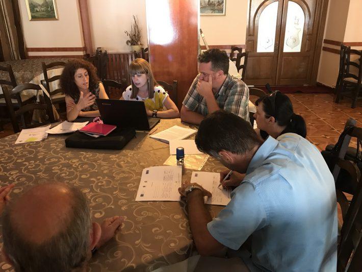 Cea de-a șasea întâlnire a echipei de proiect la Craiova