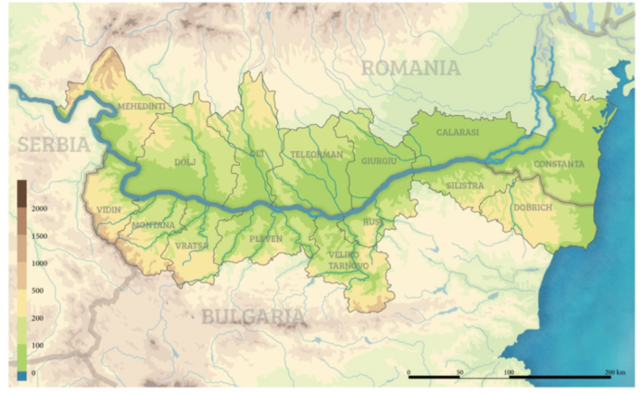 First version of the Interreg vi-a Romania-Bulgaria programme – strategy and priority axes